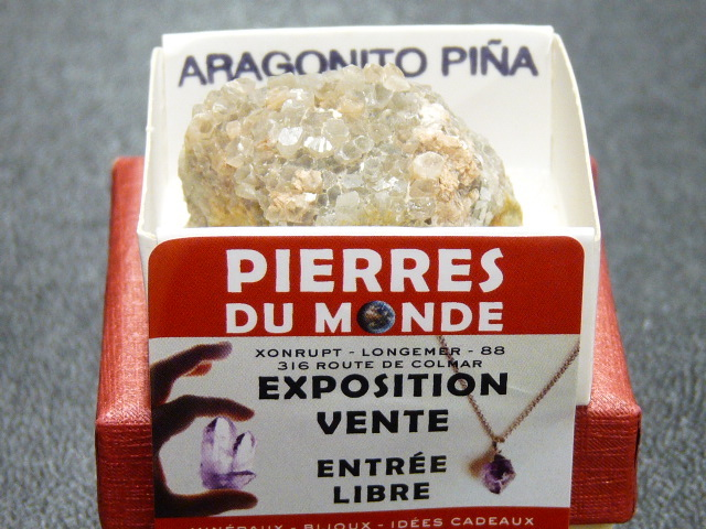 Pierre Brut De Collection Aragonite