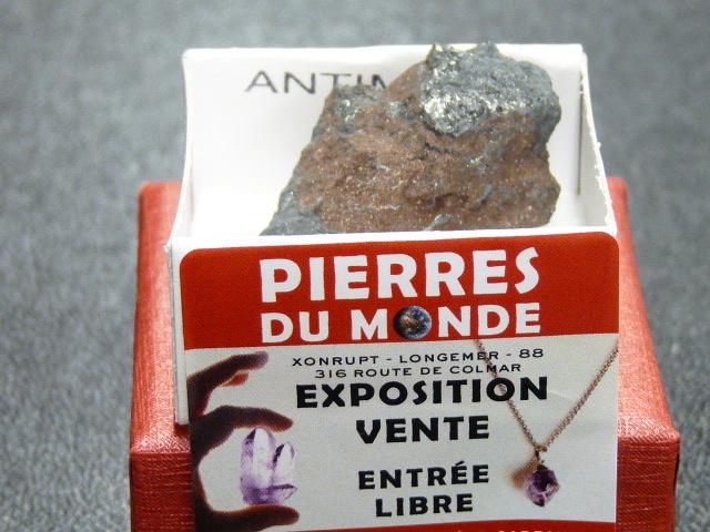 Pierre Brut De Collection Antimoine