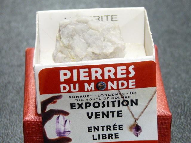 Pierre Brut De Collection Ankerite