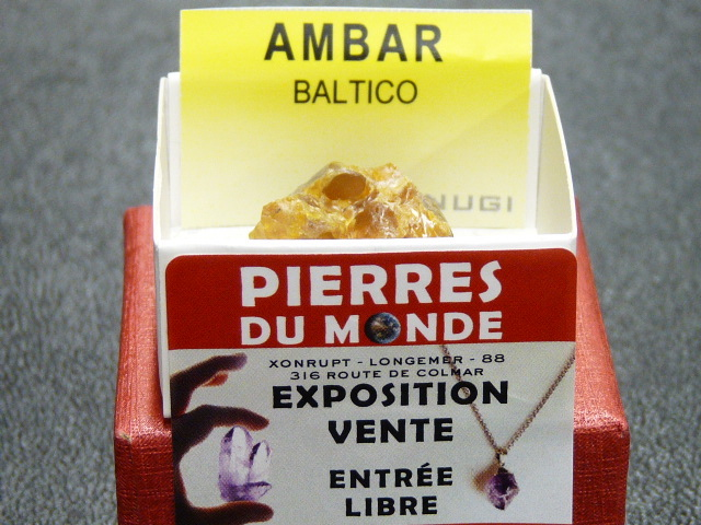 Pierre Brut De Collection Ambre