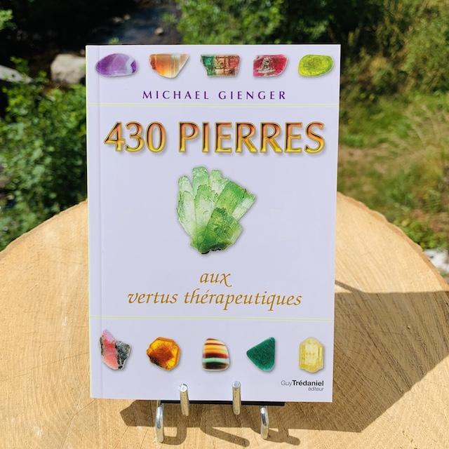 430 pierres aux vertus thérapeuthique de Mickael Gienger