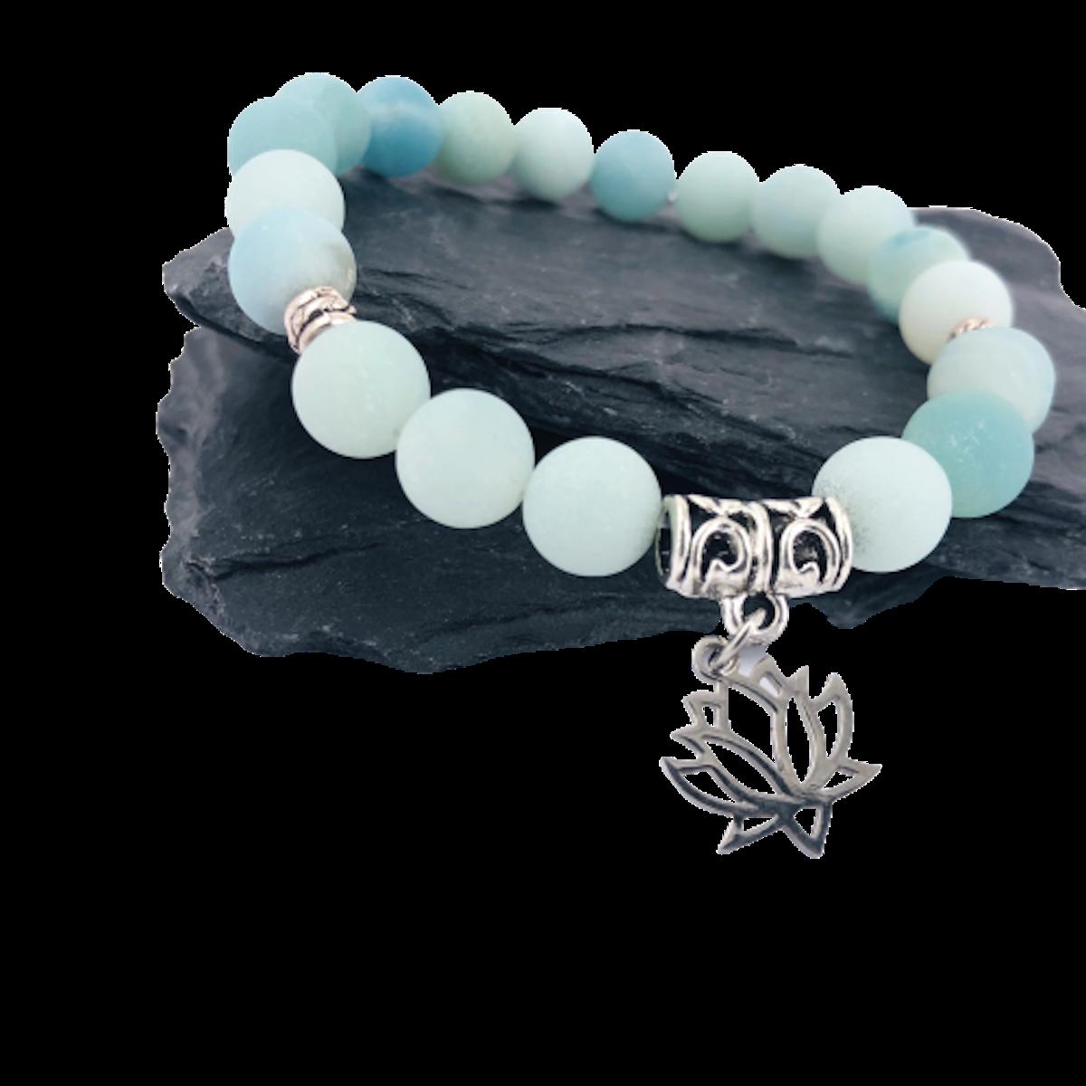 bracelet collection douceur de vivre amazonite equilibre boule 8 mm pierres du monde vosges 1 removebg preview copie 2