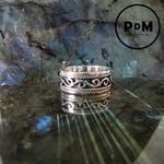 anneau-argent-grave-motif-celtique-pierres-du-monde-vosges-2