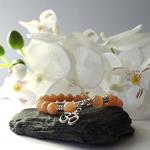 bracelet-pierre-de-soleil-pierre-naturelle-symbole-ohm-pierres-du-monde-vosges-2