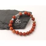 bracelet-boules-8-mm-jaspe-rouge-symbole-ohm-pierres-du-monde-vosges-1
