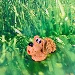 chien-personnage-céramique-ambre-pierres-du-monde-vosges-12