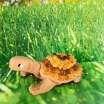 tortue-personnage-céramique-ambre-pierres-du-monde-vosges-1