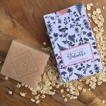 savon naturel-savon artisanal-SAF-lait d'avoine-juliette-bio-sponification à froid-1