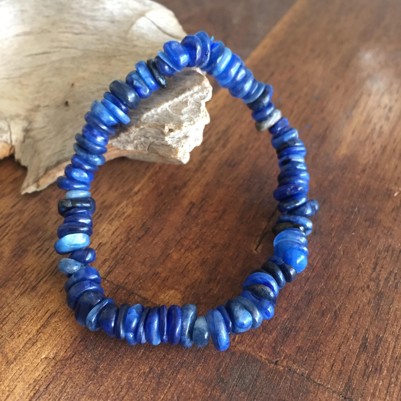 Bracelet en Cyanite