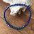 Bracelet boule Malachite Azurite