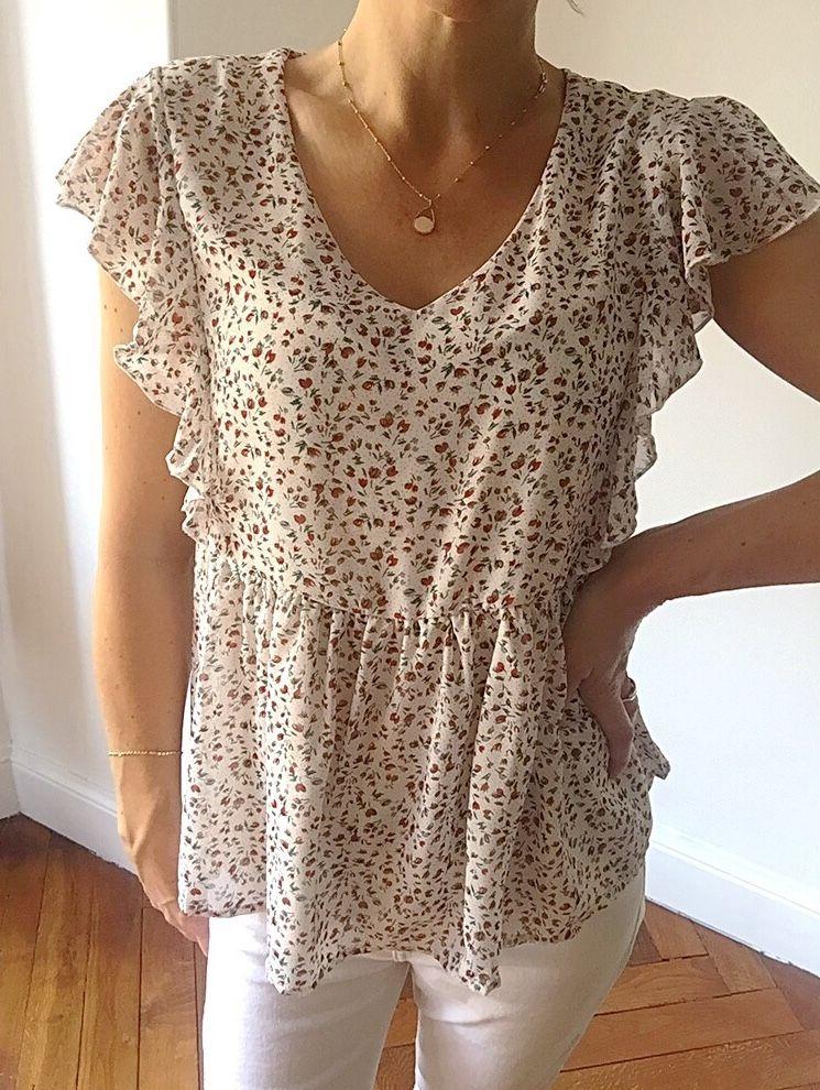 La blouse Lina