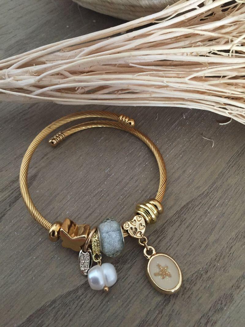 Le bracelet Lena gris