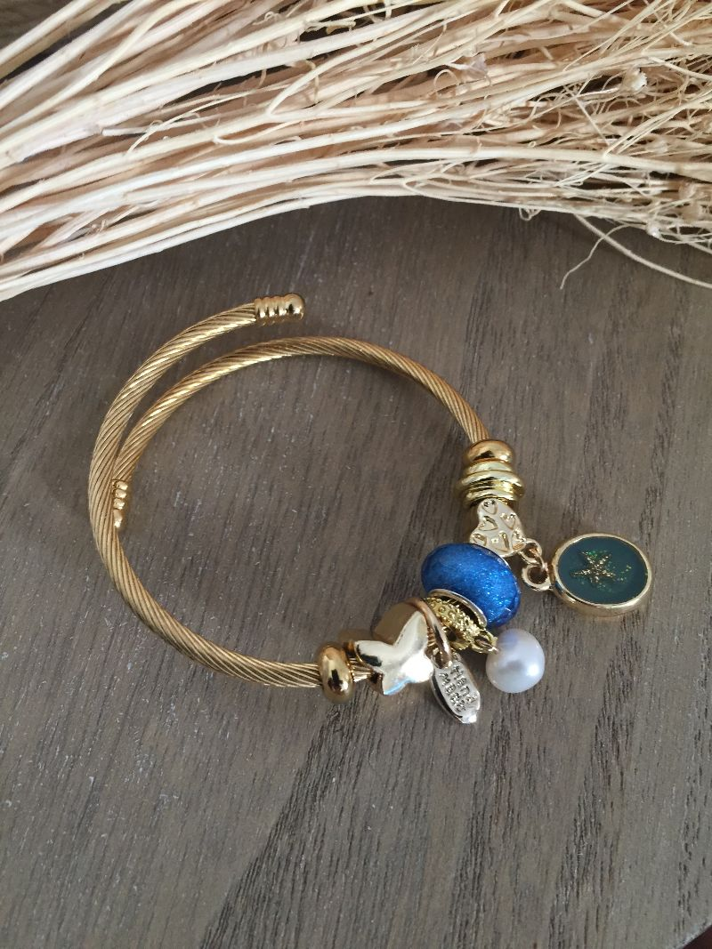 Le bracelet Lena bleu