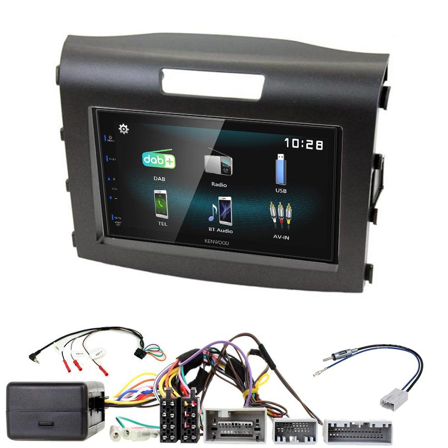 Kit d\'intégration Honda CR-V de 2012 à 2016 + Autoradio multimédia à écran tactile