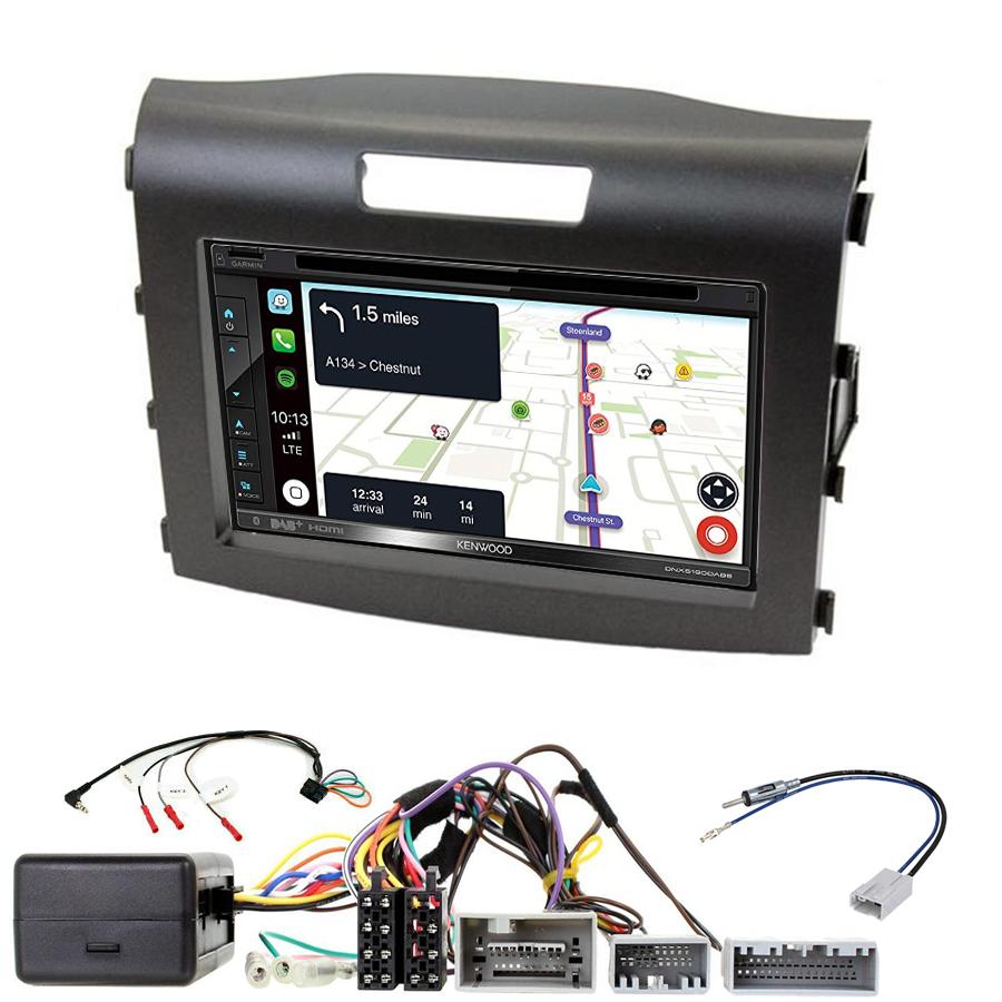 Kit d\'intégration Honda CR-V de 2012 à 2016 + Autoradio tactile Navigation GPS