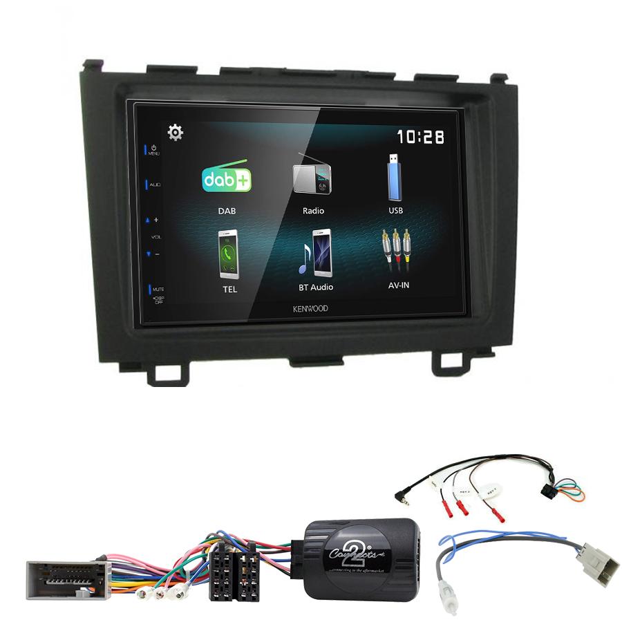 Kit d\'intégration Honda CR-V de 2006 à 2012 + Autoradio multimédia à écran tactile