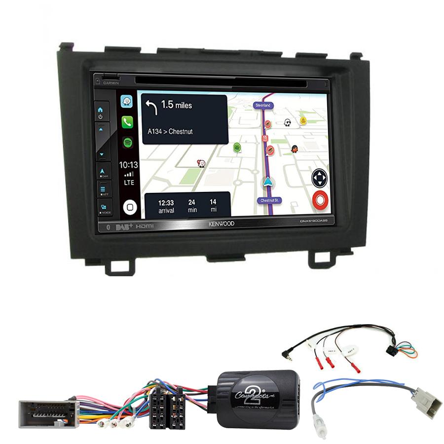 Kit d\'intégration Honda CR-V de 2006 à 2012 + Autoradio tactile Navigation GPS