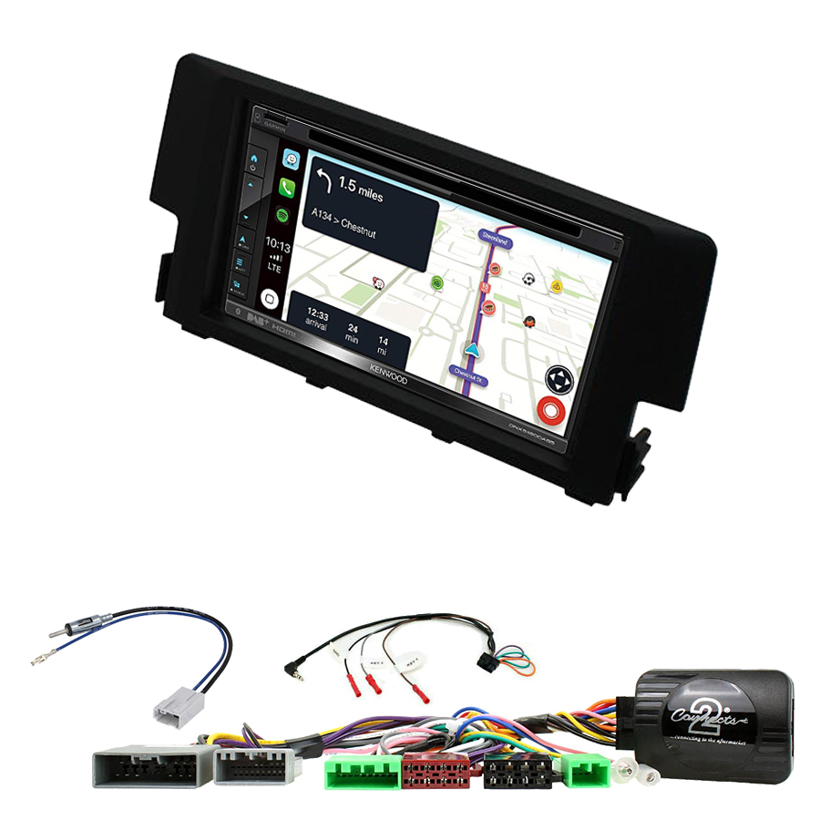 Kit d\'intégration Honda Civic de 2016 à 2020 + Autoradio tactile Navigation GPS