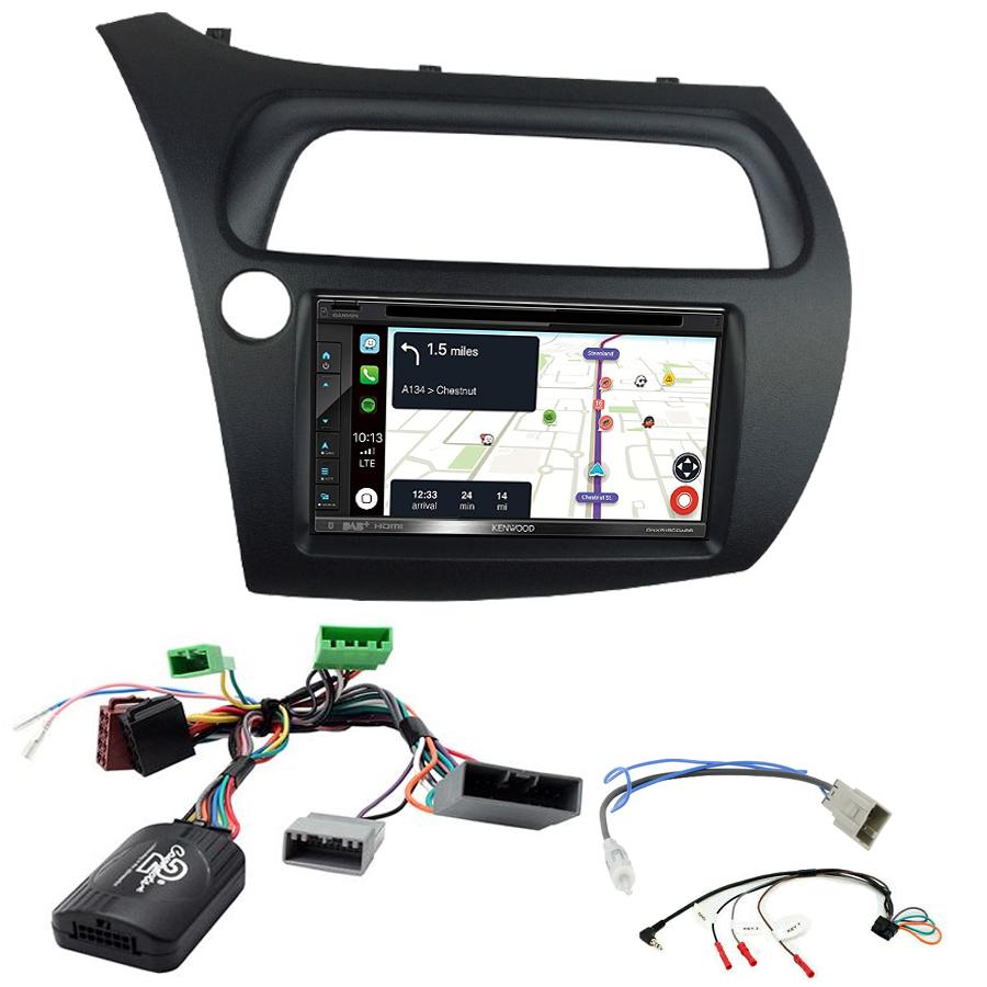 Kit d\'intégration Honda Civic de 2006 à 2011 + Autoradio tactile Navigation GPS