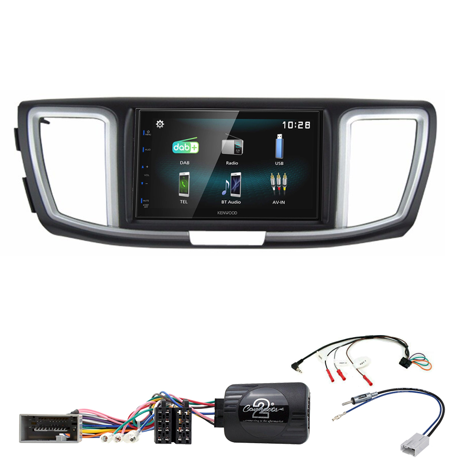 Kit d\'intégration Honda Accord de 2013 à 2019 + Autoradio multimédia à écran tactile