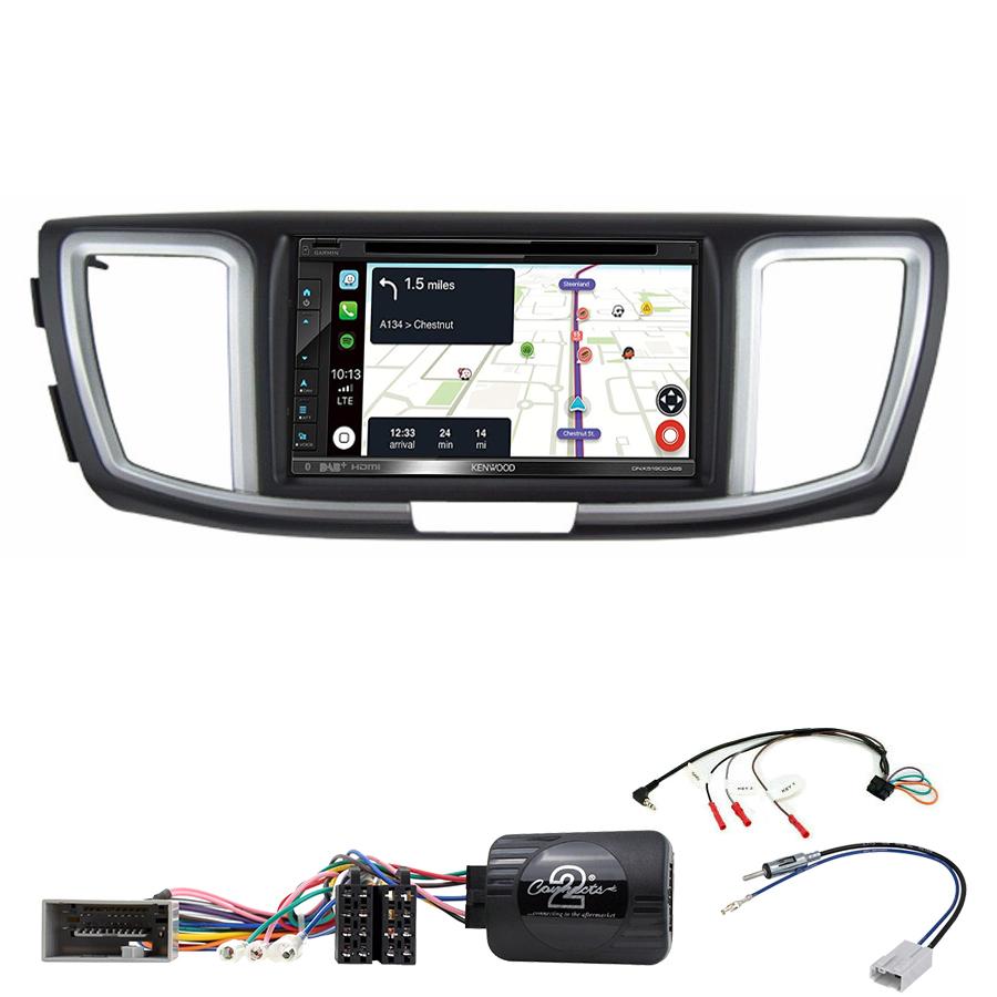 Kit d\'intégration Honda Accord de 2013 à 2019 + Autoradio tactile Navigation GPS