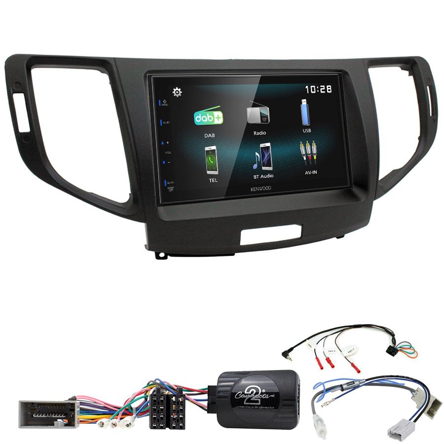 Kit d\'intégration Honda Accord de 2008 à 2013 + Autoradio multimédia à écran tactile