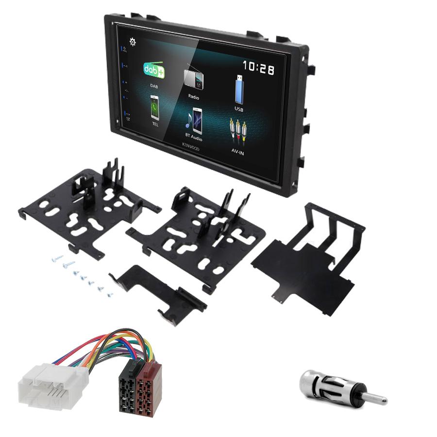 Kit d\'intégration Honda Accord Civic CR-V Odyssey et Prelude + Autoradio multimédia à écran tactile