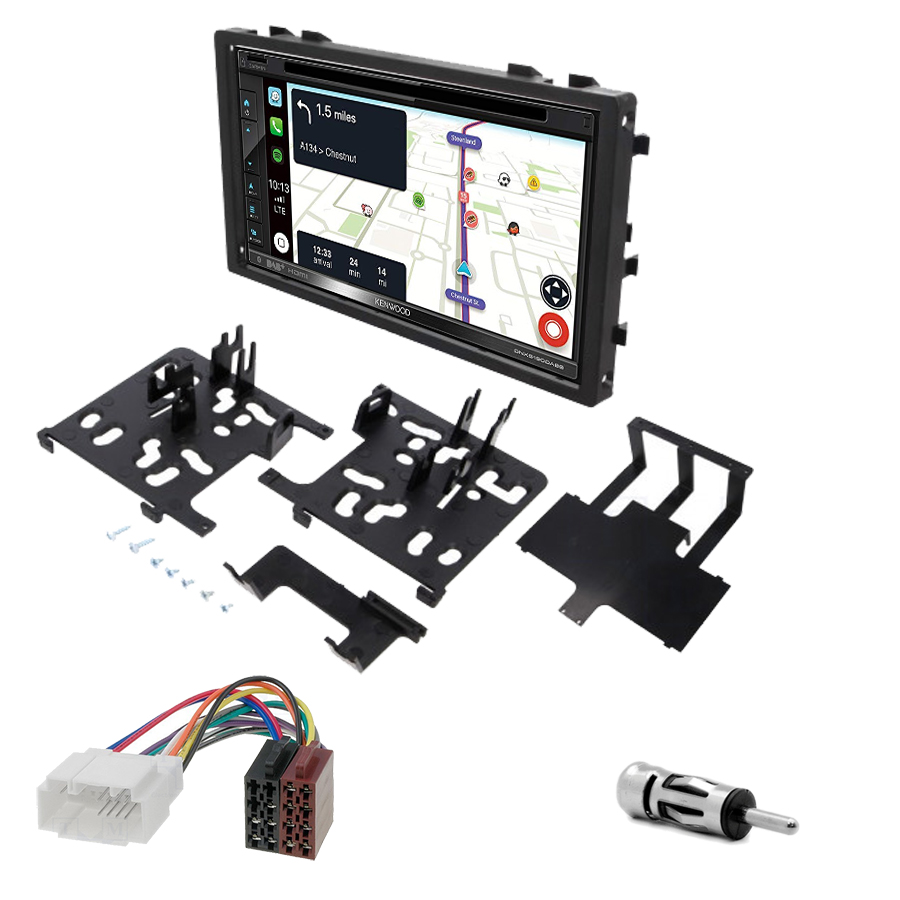 Kit d\'intégration Honda Accord Civic CR-V Odyssey et Prelude + Autoradio tactile Navigation GPS
