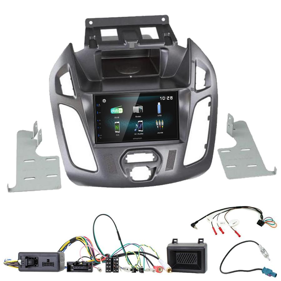 Kit d\'intégration Ford Transit Connect de 2013 à 2018 + Autoradio multimédia à écran tactile