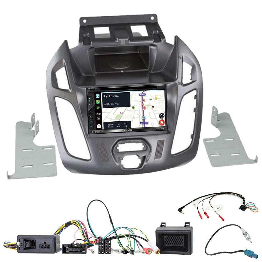 Kit d\'intégration Ford Transit Connect de 2013 à 2018 + Autoradio tactile Navigation GPS