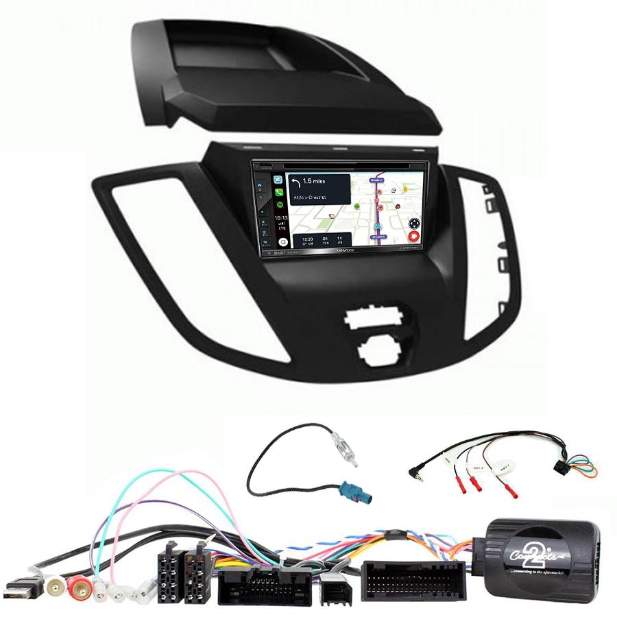Kit d\'intégration Ford Transit de 2015 à 2019 + Autoradio tactile Navigation GPS