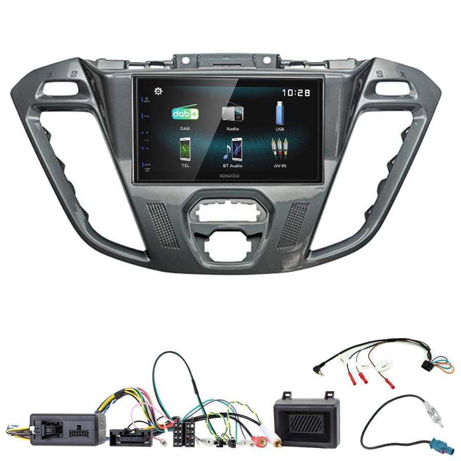 Kit d\'intégration Ford Transit Custom et Tourneo Custom + Autoradio multimédia à écran tactile