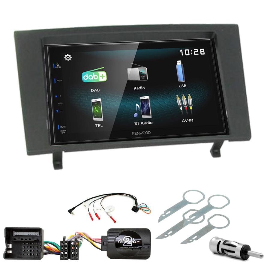 Kit d\'intégration Ford Mondeo de 2003 à 2007 + Autoradio multimédia à écran tactile