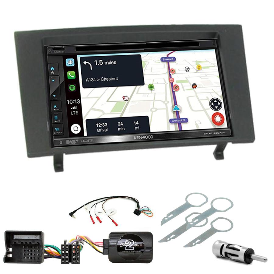 Kit d\'intégration Ford Mondeo de 2003 à 2007 + Autoradio tactile Navigation GPS