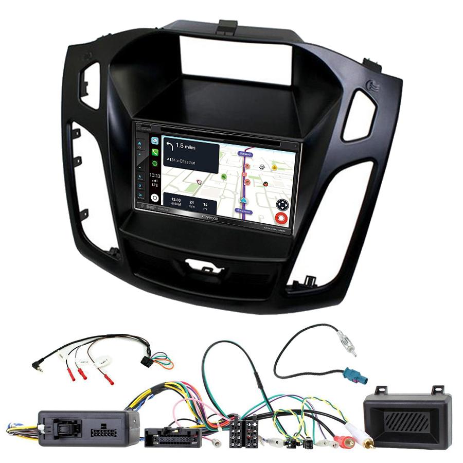 Kit d\'intégration Ford Focus de 2015 à 2018 + Autoradio tactile Navigation GPS