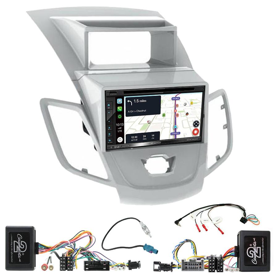 Kit d\'intégration Ford Fiesta de 2008 à 2012 + Autoradio tactile Navigation GPS