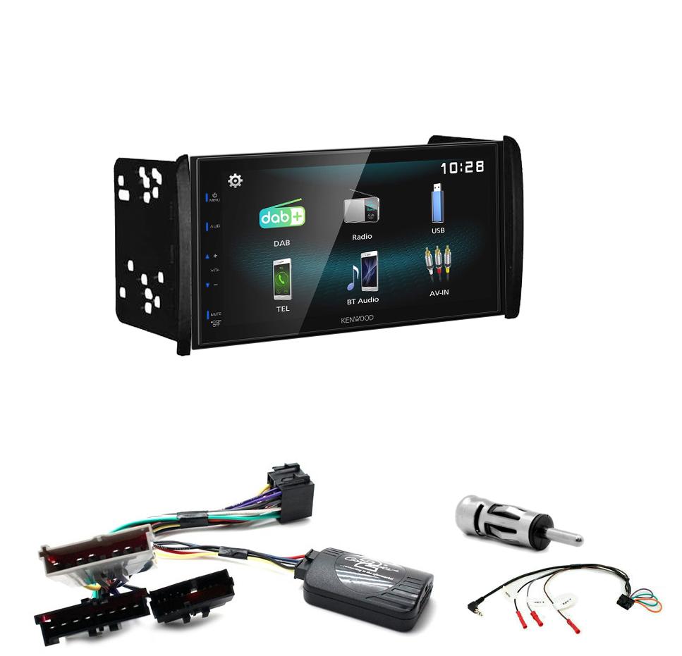 Kit d\'intégration Ford Mondeo Focus et Fiesta + Autoradio multimédia à écran tactile