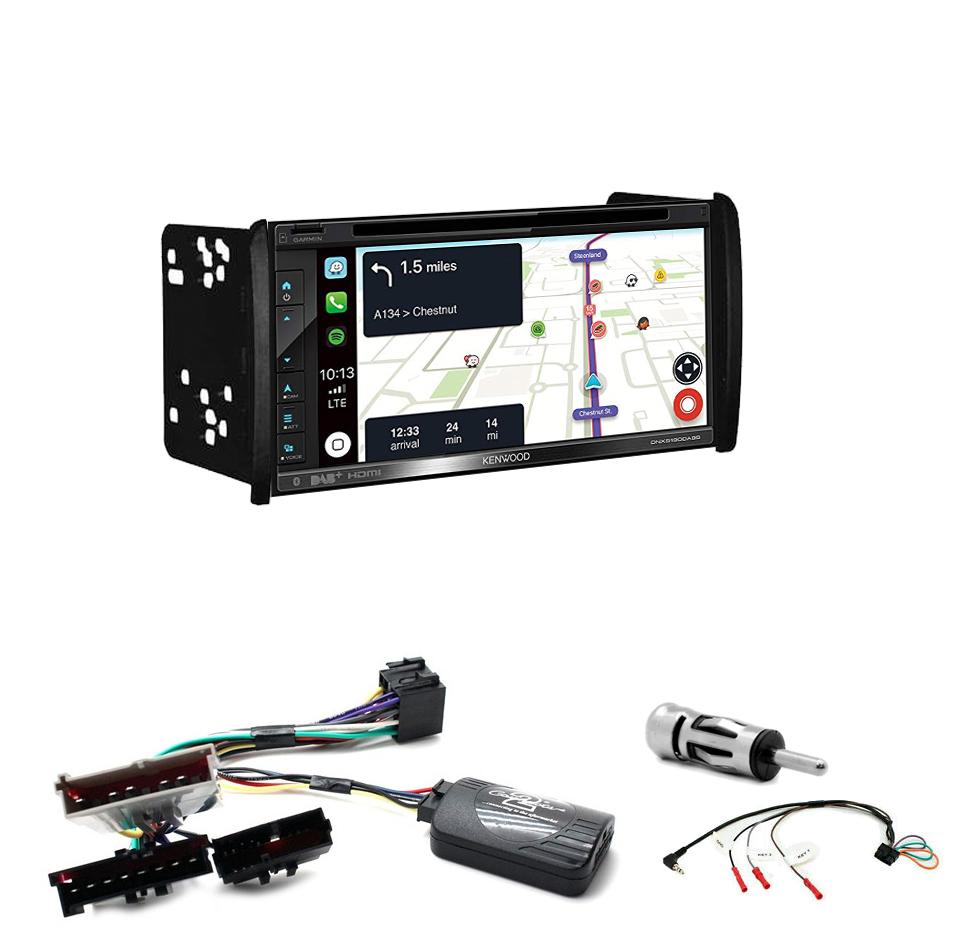 Kit d\'intégration Ford Mondeo Focus et Fiesta + Autoradio tactile Navigation GPS