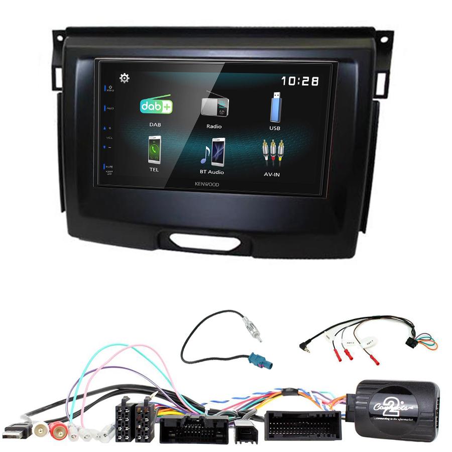 Kit d\'intégration Ford Everest et Ranger + Autoradio multimédia à écran tactile