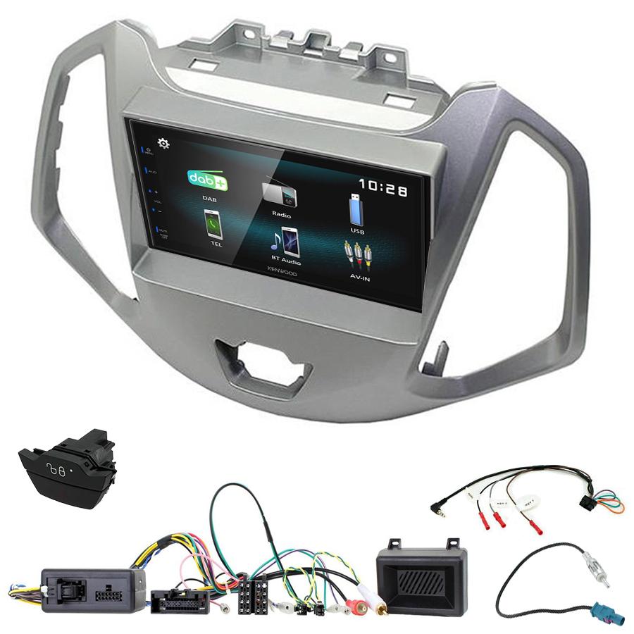 Kit d\'intégration Ford EcoSport + Autoradio multimédia à écran tactile