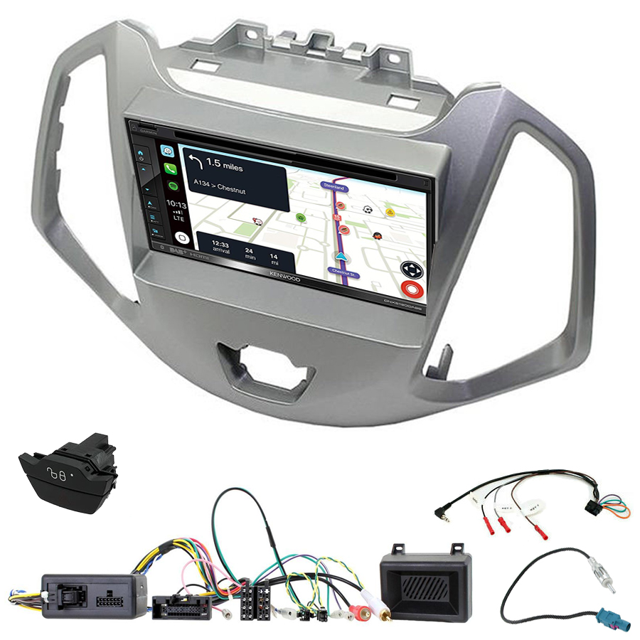 Kit d\'intégration Ford EcoSport + Autoradio tactile Navigation GPS