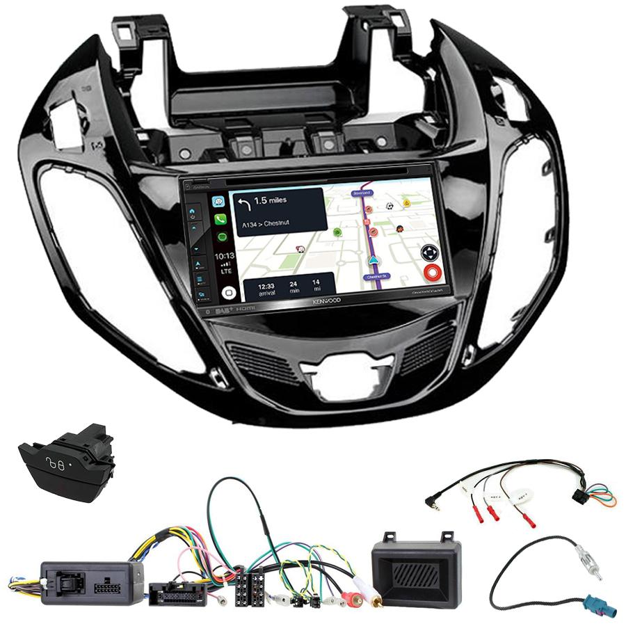 Kit d\'intégration Ford B-Max + Autoradio tactile Navigation GPS