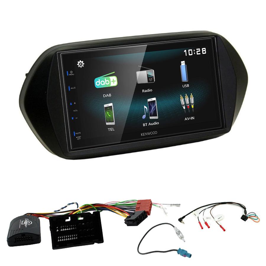 Kit d\'intégration Fiat Tipo + Autoradio multimédia à écran tactile