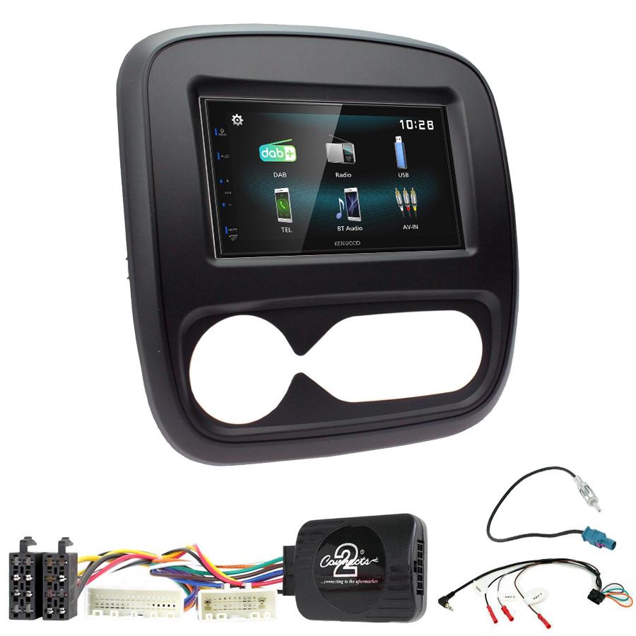 Kit d\'intégration Nissan NV300 + Autoradio multimédia à écran tactile