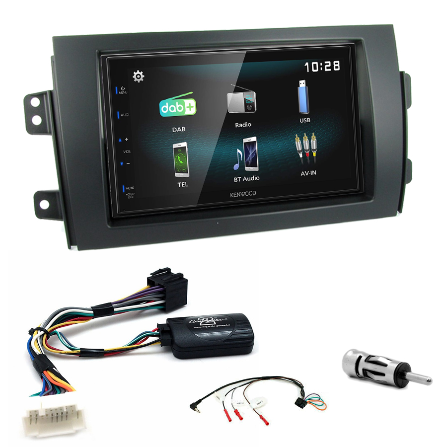 Kit d\'intégration Suzuki SX4 + Autoradio multimédia à écran tactile