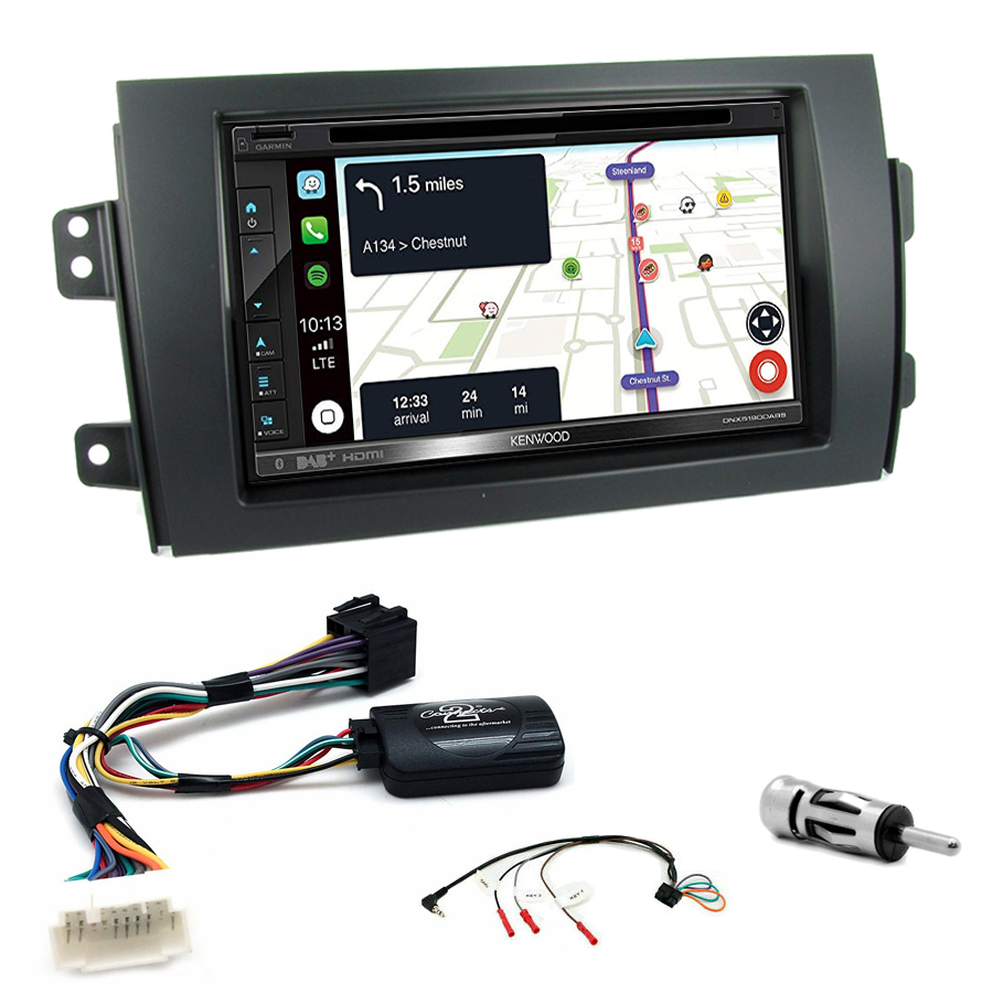 Kit d\'intégration Suzuki SX4 + Autoradio tactile Navigation GPS
