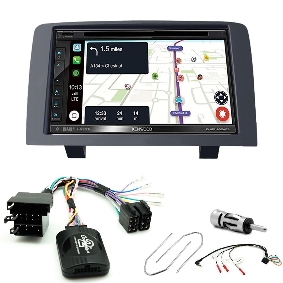 Kit d\'intégration Fiat Idea + Autoradio tactile Navigation GPS