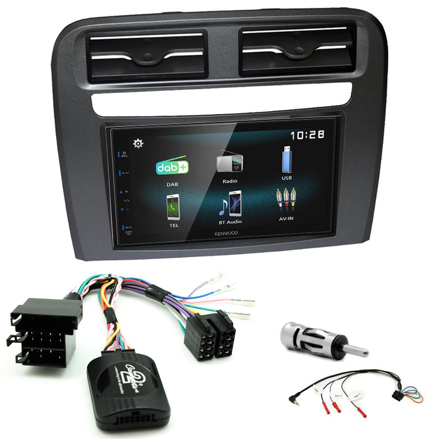 Kit d\'intégration Fiat Grande Punto + Autoradio multimédia à écran tactile