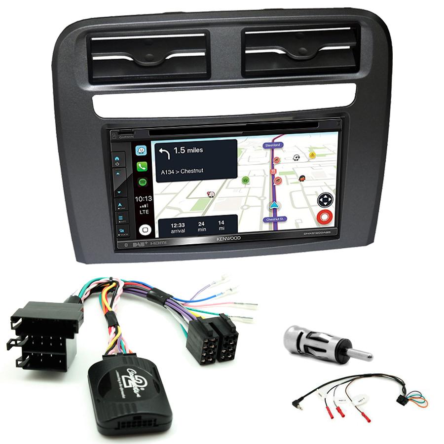 Kit d\'intégration Fiat Grande Punto + Autoradio tactile Navigation GPS