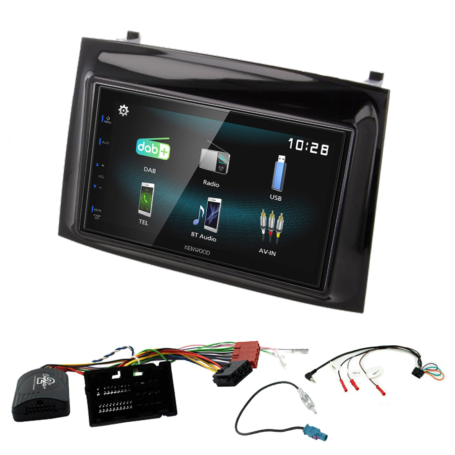 Kit d\'intégration Opel Combo depuis 2015 + Autoradio multimédia à écran tactile